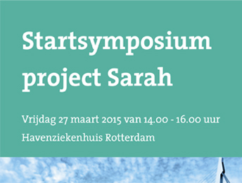Uitnodiging Startsymposium Project Sarah
