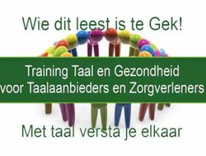 Training taal en gezondheid